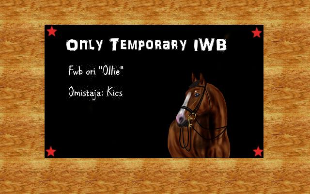 "Only Temporary IWB ""Ollie"" Ollitaulu"